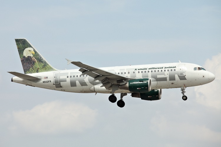 Airbus A319-111, Frontier, registrace N932FR