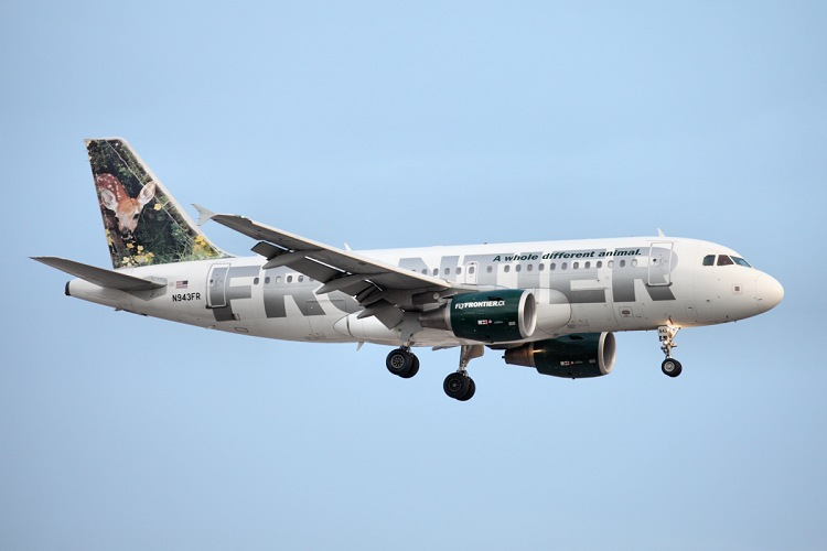Airbus A319-111, Frontier, registrace N943FR