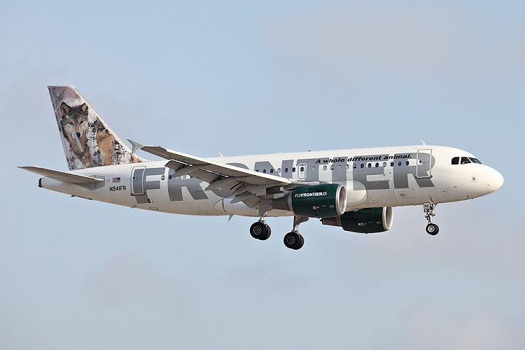 Airbus A319-112, Frontier, registrace N941FR