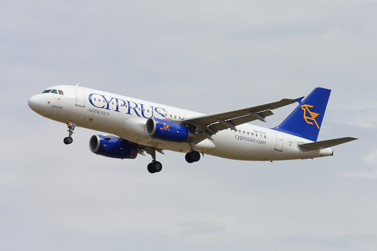 Airbus A320-232, Cyprus Airways, registrace 5B-DCH