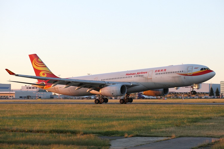 Airbus A330-343, Hainan Airlines, registrace B-5905
