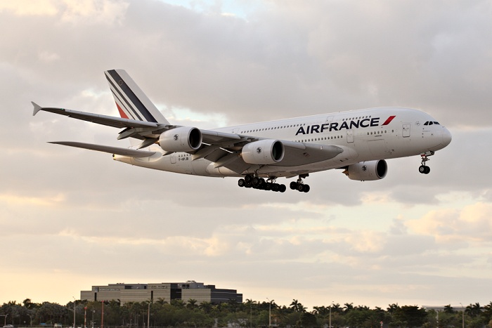 Airbus A380-861, Air France, registrace F-HPJE