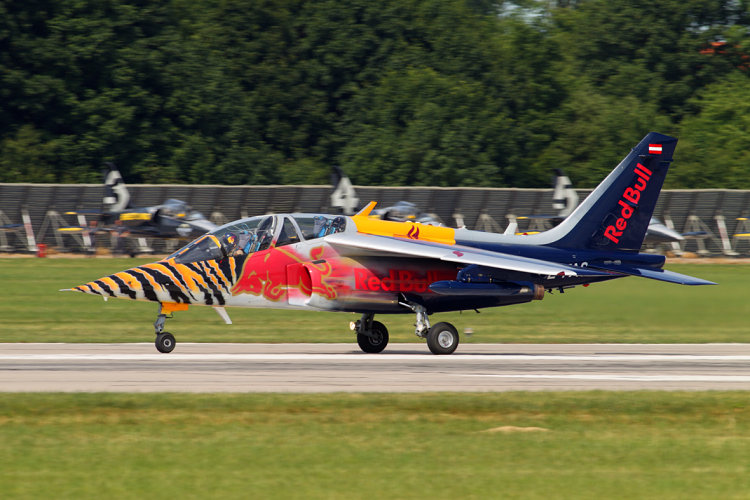 AlphaJet A, The Flying Bulls, registrace OE-FAS