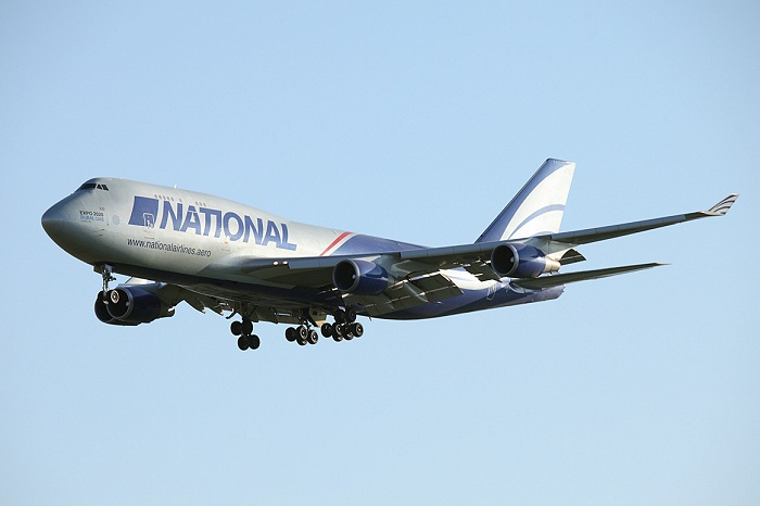 Boeing B747-428BCF, National Airlines, registrace N952CA