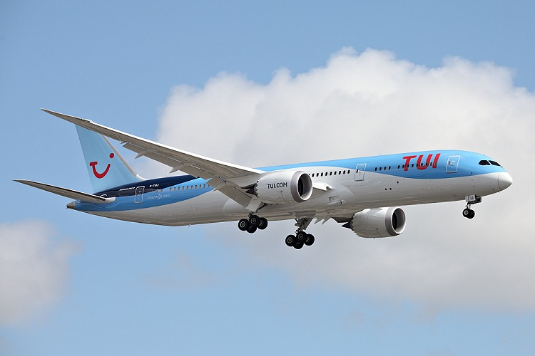 Boeing B787-9, Thomson Airways, registrace G-TUIJ