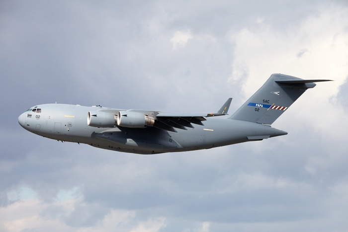 Boeing C-17A Globemaster III, Hungarian Air Force, registrace 02