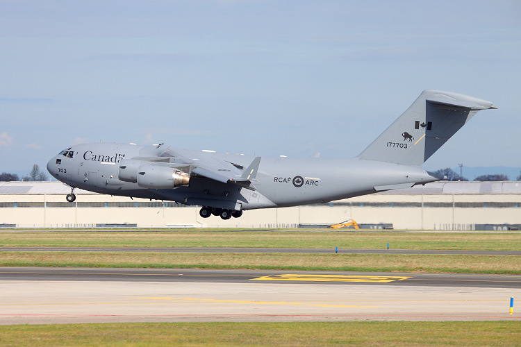 CC-177 (Boeing C-17A Globemaster III), Canadian Air Force, registrace177703