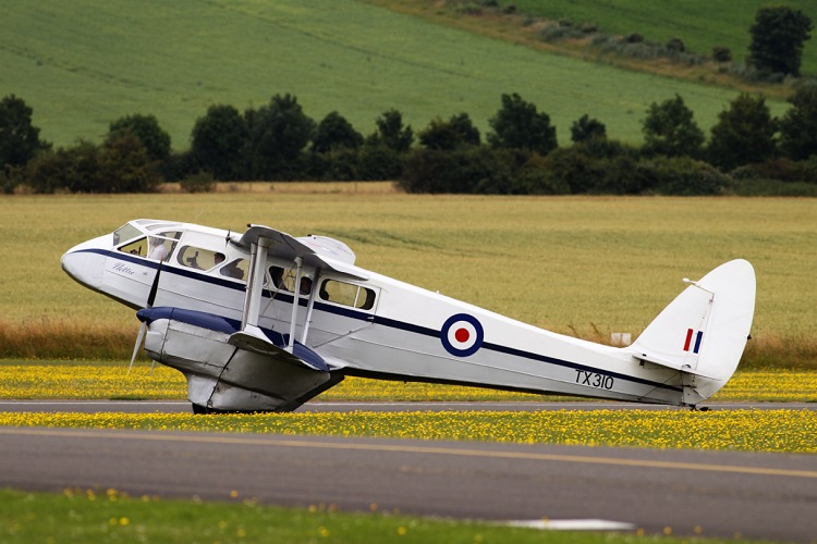 De Havilland D.H. 89A Dragon Rapide 6, registrace TX310
