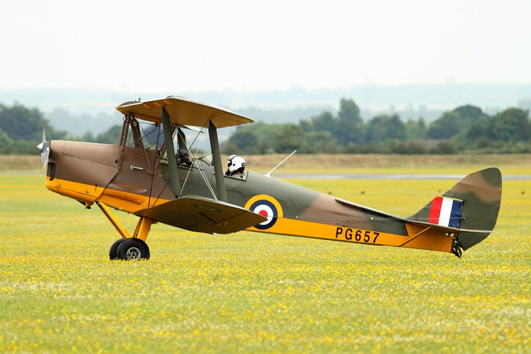 De Havilland DH.82A Tiger Moth II, registrace G-AGPK/PG657