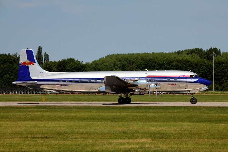 Douglas DC-6B, The Flying Bulls, registrace OE-LDM