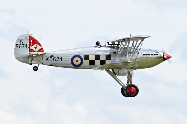 Hawker Fury Mk.I, Historic Aircraft Collection, registrace G-CBZP/K5674