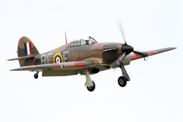 Hawker Hurricane Mk.XIIa, The Historic Aircraft Collection, registrace G-HURI/RF-E/P3700