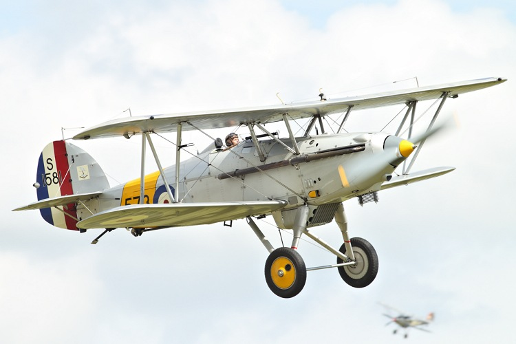 Hawker Nimrod Mk.I, The Fighter Collection, registrace G-BWWK/573/S1581