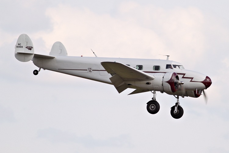 Lockheed 12A Junior Electra, registrace N14999
