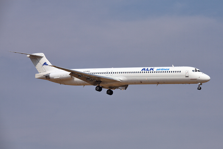 McDonell Douglas MD-82, ALK Airlines, registrace LZ-DEO
