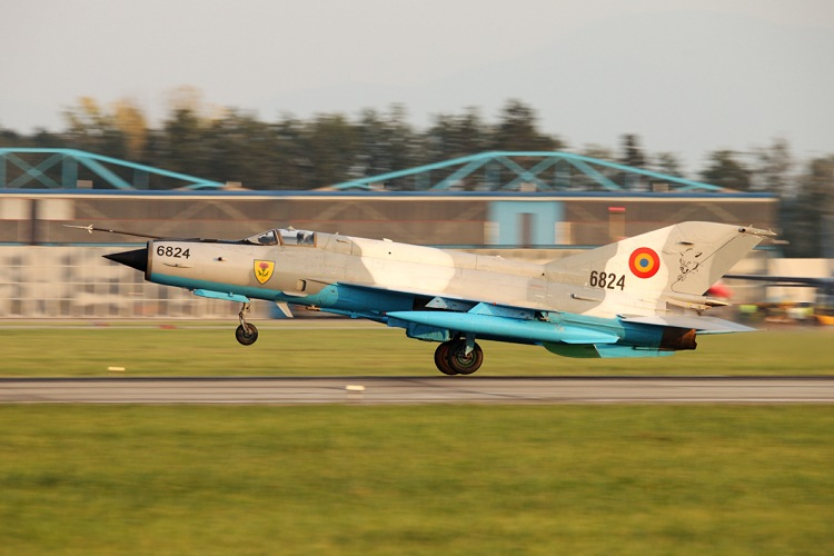 Mig-21MF-75, Romanian Air Force, registrace 6824