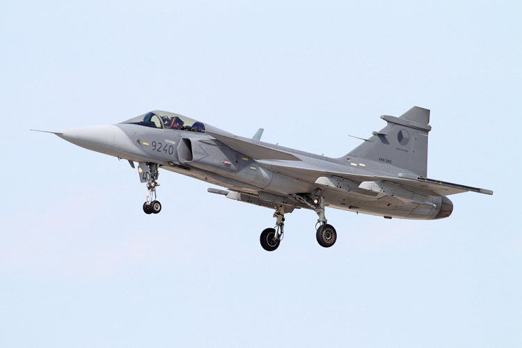 Saab JAS-39C Gripen, Czech Air Force, registrace 9240