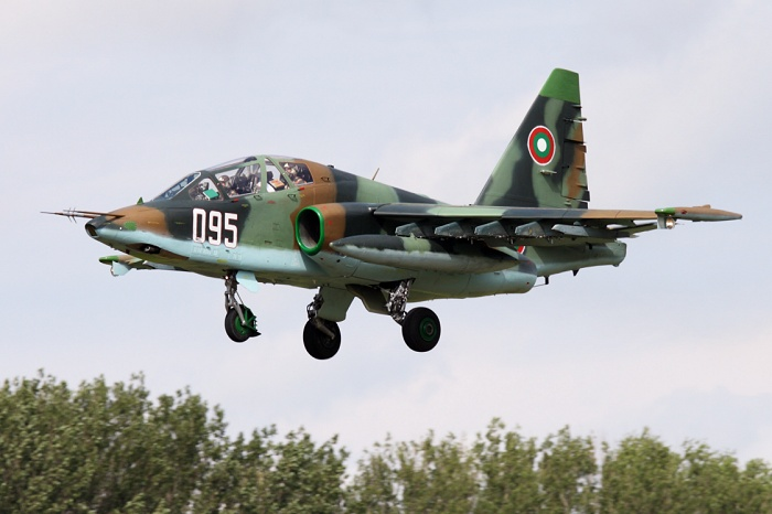 Suchoj Su-25UBK, Bulgarian Air Force, registrace 095
