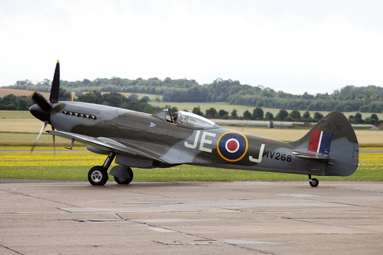 Supermarine Spitfire Mk.FR.XIVe, The Fighter Collection, registrace G-SPIT