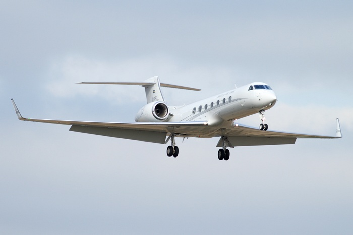 Tp102D (Gulfstream G550), Swedish Air Force, registrace 102005
